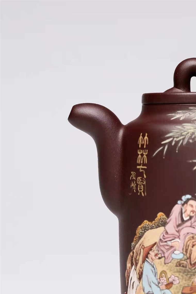 杨慧英作品 竹林七贤图片