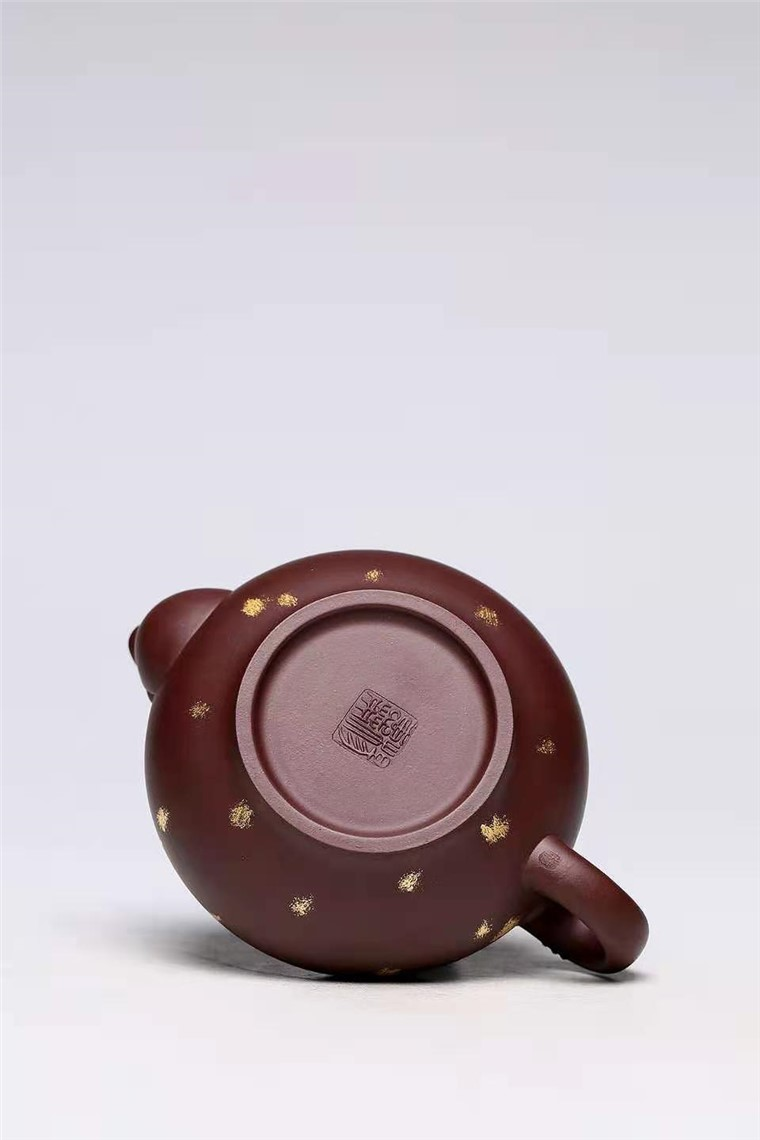 杨慧英作品 扁灯壶