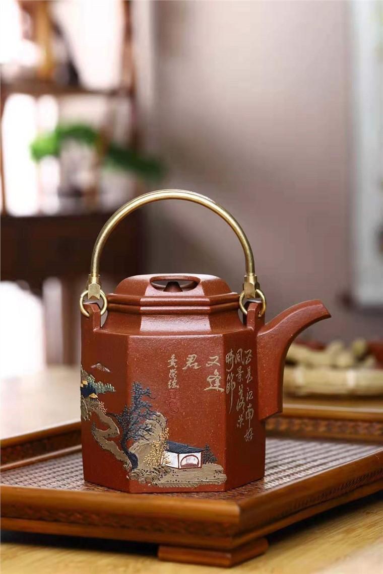 刘莹作品 六方洋桶图片