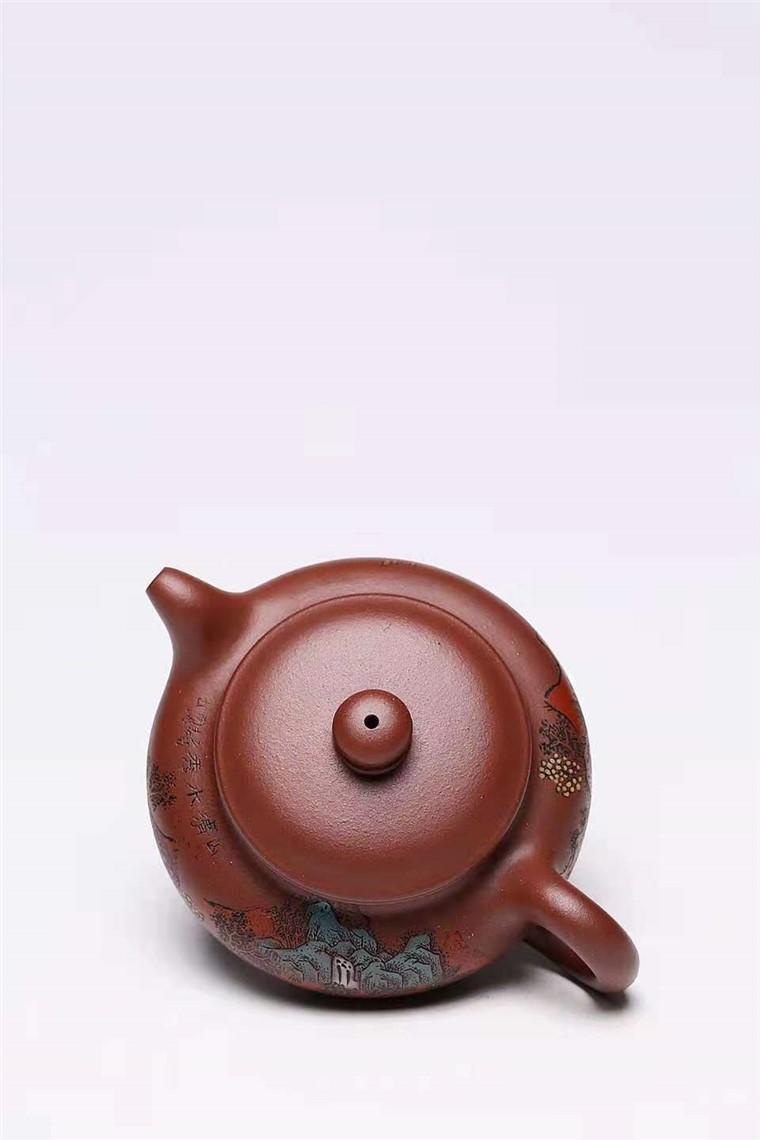 杨慧英作品 泥绘仿古图片
