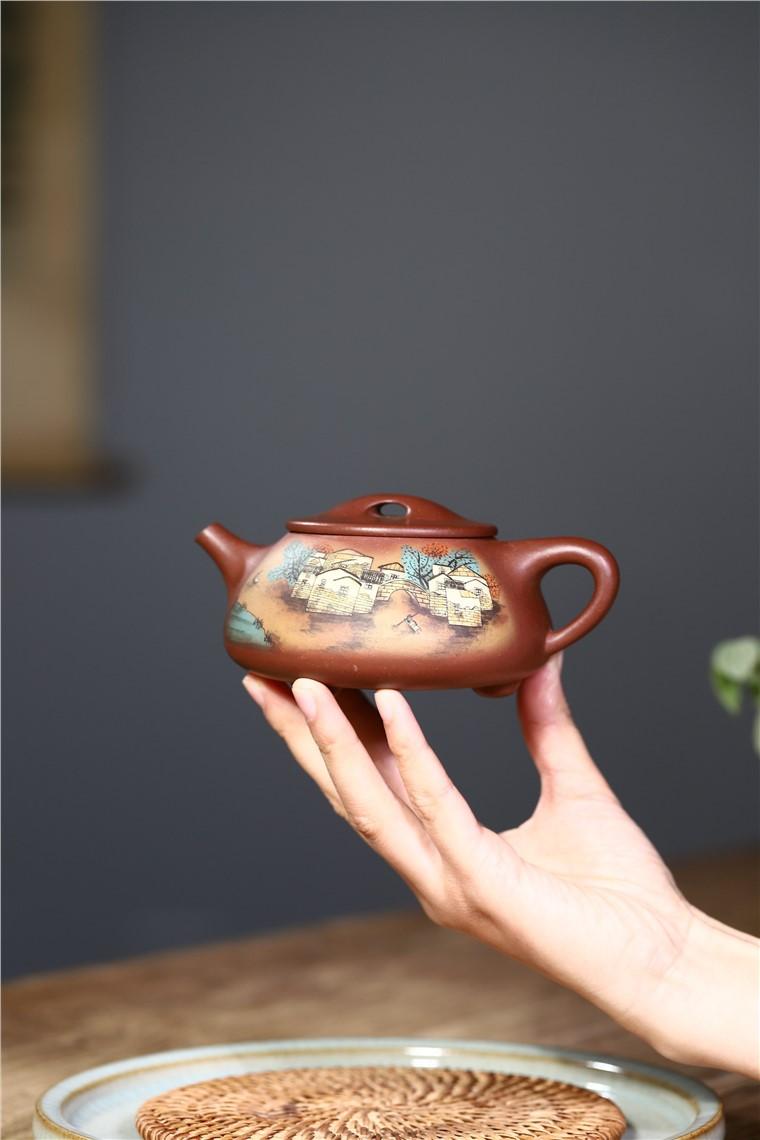 韩洪波作品 石瓢图片