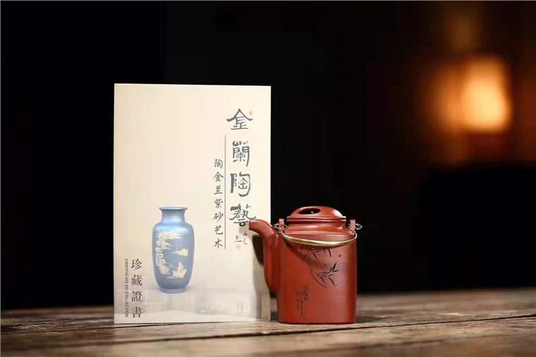 陶金兰作品 四方洋桶图片