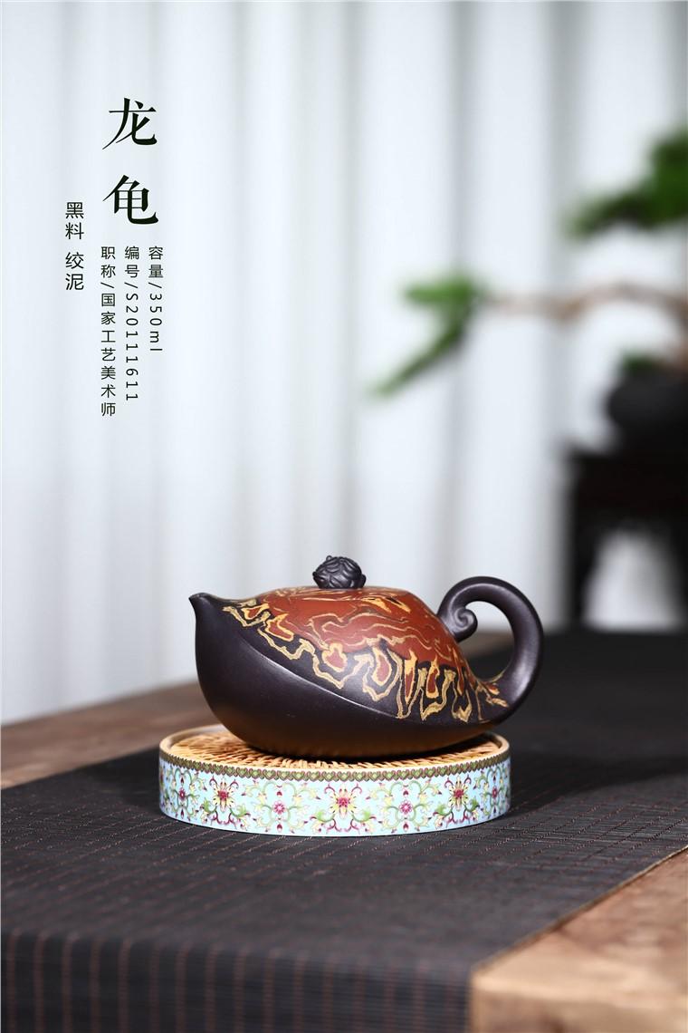 韩洪波作品 龙龟图片