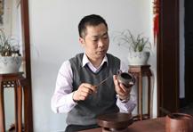 紫砂壶工艺师范正初名家照片