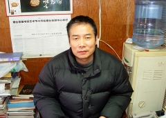 紫砂壶工艺师唐建国名家照片
