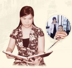 紫砂壶工艺师冯红华名家照片