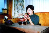 紫砂壶工艺师俞晓芳名家照片
