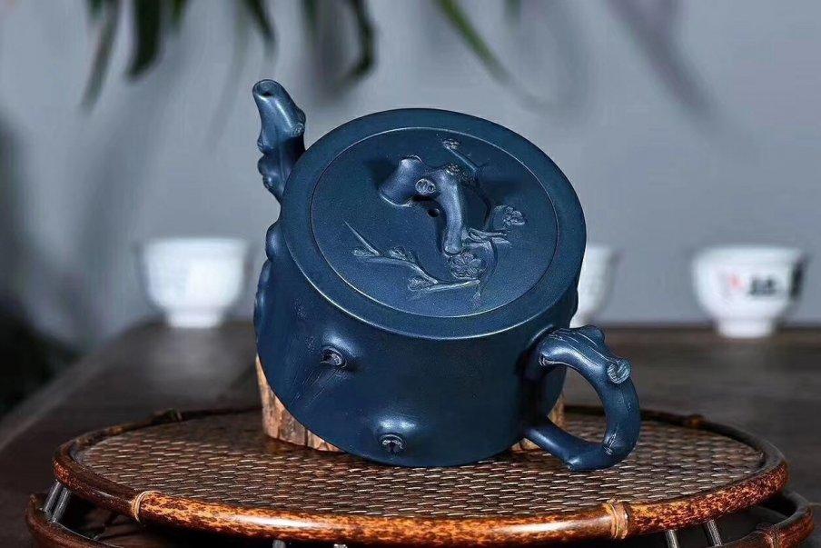 陈浩作品 树桩壶
