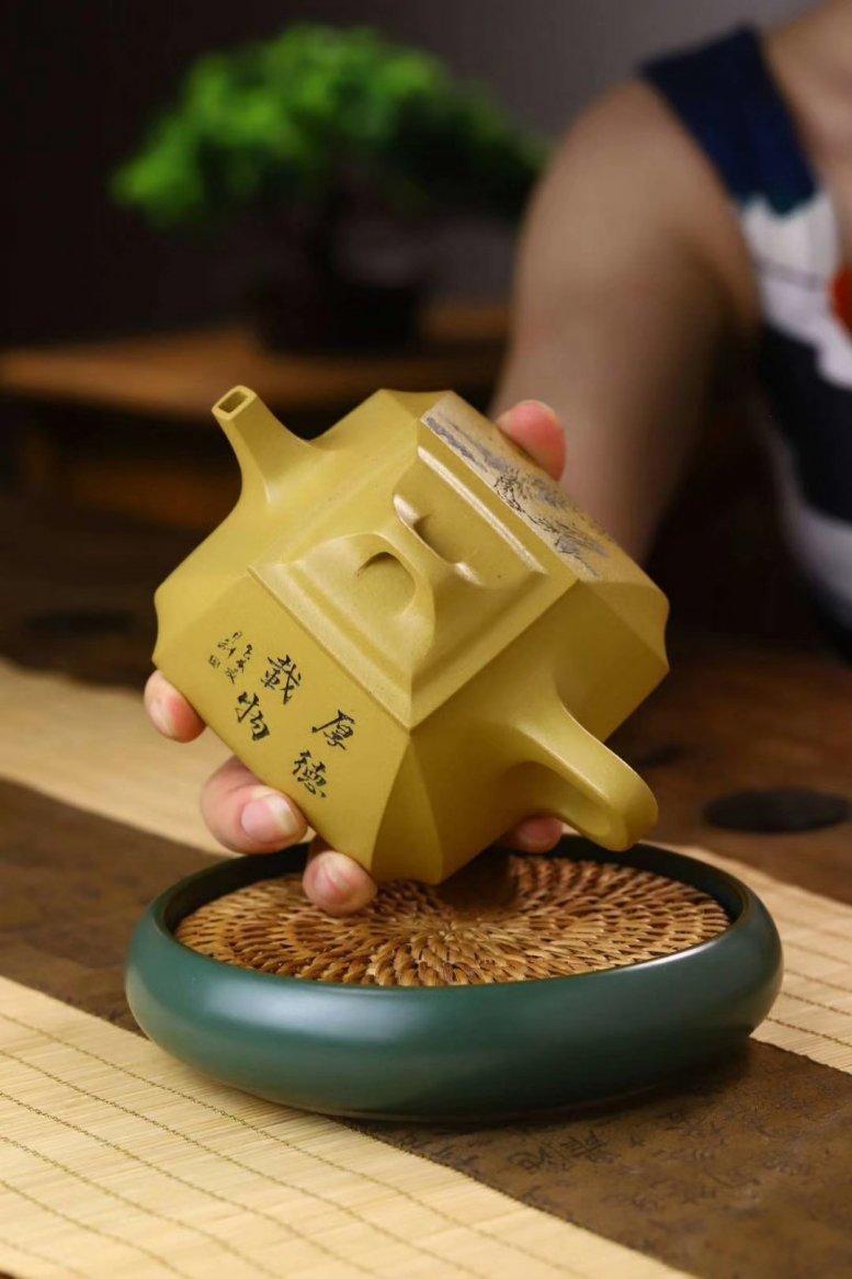 张菊仙作品 抽角石瓢