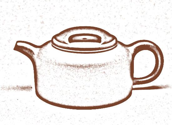 牛盖莲子壶